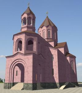 Макет Кафедрального Собора Святой Марии Богородицы