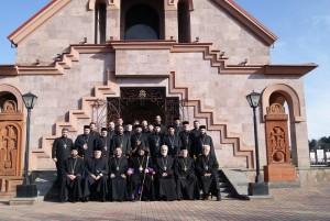 Собрание  священников Епархии  Юга  России  Армянской  Апостольской  Церкви