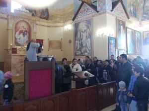 Освещение воды в ААЦ Святого Григория Просветителя  в городе Белореченск