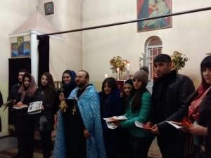 День благословления влюбленных в Майкопе и Белореченске