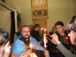 Праздник Сретение Господне в Майкопе