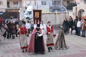Сретение Господне в церкви Сурб Хач города Сочи